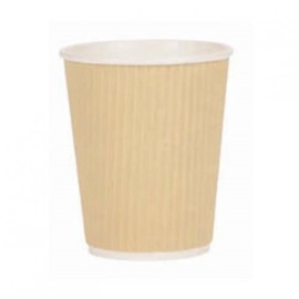 Brown Kraft Paper Ripple Wall Cup 8oz (Pack x 500)