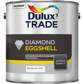 Dulux TR Diamond Eggshell PB WHITE 5L