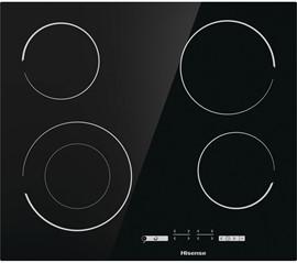 Hisense Electric Ceramic Hob 4 Ring - Black
