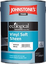 Johnstone's VINYL SOFT SHEEN BRILLIANT WHITE 10L
