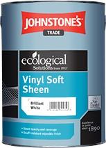 Johnstone's VINYL SOFT SHEEN BRILLIANT WHITE 10L