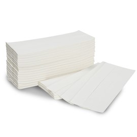 White Paper Towels C-fold (2880 towels/case)