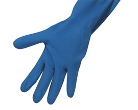 Household Gloves Medium Blue (Pk 12)