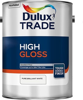 Dulux TR High Gloss PB WHITE 5L