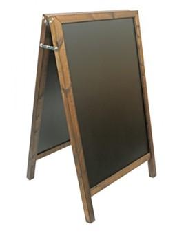 A1 Original Chalk Board - Wood Stained Dark Oak