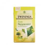 Twinings Infusion Tea Bags Individually-wrapped Peppermint  [Pack 20]