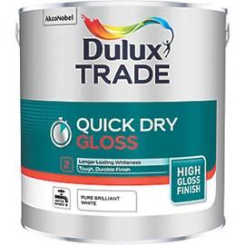 Dulux TR Quick Dry Gloss PB WHITE 2.5L