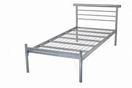 Contract Silver Bed - 3'0 (Mesh/Slat)