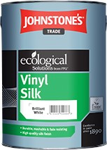 Johnstone's VINYL SILK BRILLIANT WHITE 1L