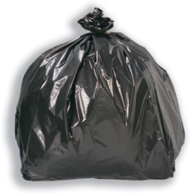 Medium Duty Black Refuse Sacks (box x300)