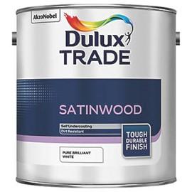 Dulux TR Quick Dry Satinwood PB WHITE 2.5L