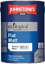 Johnstone's ADV TECH FLAT MATT BRILLIANT WHITE 2.5L