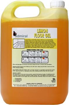 Universal Lemon Floor Gel 5L Case 4x 5L