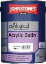 Johnstone's ACRYLIC SATIN BRILLIANT WHITE 2.5L