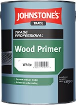 Johnstone's WOOD PRIMER WHITE 5L