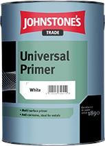 Johnstone's UNIVERSAL PRIMER WHITE 2.5L