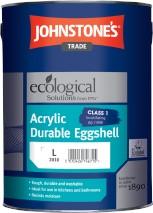 Johnstone's ACRYLIC EGGSHELL BRILLIANT WHITE 5l
