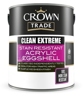 Crown TR Clean Extreme Acrylic Eggshell WHITE 5L
