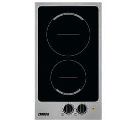 Zanussi Electric Induction Domino 2 Ring Hob Black