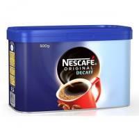 Nescafe Original Decaffeinated Coffee 500g Tin
