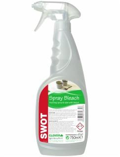Swot Spray & Wipe with Bleach CASE 6x750ml