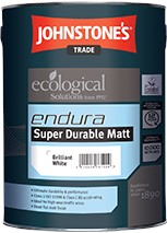 Johnstone's ENDURA DURABLE MATT BRILLIANT WHITE 5L