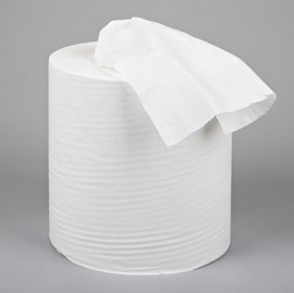 White Centre Feed Roll 2ply (Pack of 6)