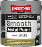Johnstone's SMOOTH METAL PAINT Colours 800ml