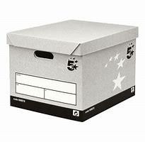 5 Star Facilities FSC Storage Box With Lid Self