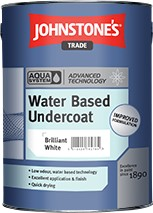 Johnstone's AQUA UNDERCOAT BRILLIANT WHITE 2.5L