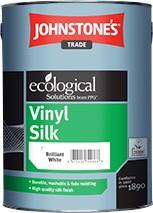 Johnstone's  VINYL SILK BRILLIANT WHITE 5L