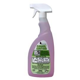 Cleaner Sanitiser CASE 6 x 750ml