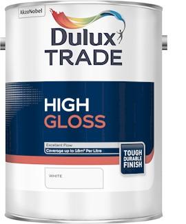 Dulux TR High Gloss WHITE 5L