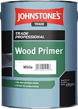 Johnstone's WOOD PRIMER WHITE 2.5L