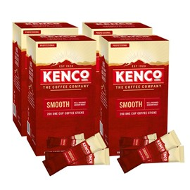 Kenco Smooth Roast Coffee Sticks 4 x 200 Sticks