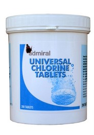 Universal Chlorine Disinfectant Tablets
