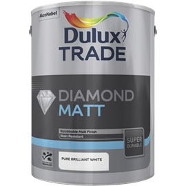 Dulux TR Diamond Matt PB WHITE 10L