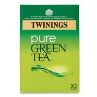 Twinings Pure Green Teabags Individually Wrapped  [Pack 20]