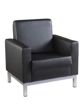 1 Seater Sofa Chair - Black