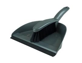 Silver Dustpan & Brush Set