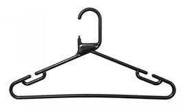 Plastic Hangers - Black