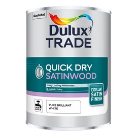 Dulux TR Quick Dry Satinwood PB WHITE 5L