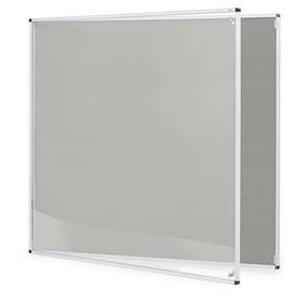 Lockable Internal Noticeboard 900 X 1200mm Grey