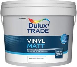Dulux TR Vinyl Matt PB WHITE 10L