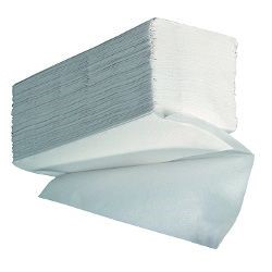 V Fold 3ply white paper towels - Case x 15 sleeves