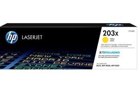 Compatible HP Toner CF542X 203X Yellow 2500 Page Yield
