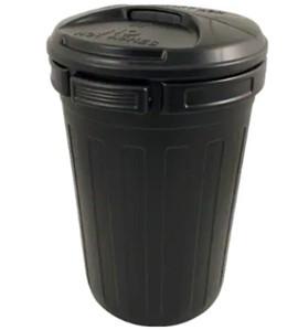 80L Dustbin - Black