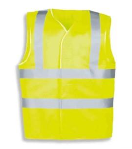 Yellow High Visibility Hi Vis Vest - L