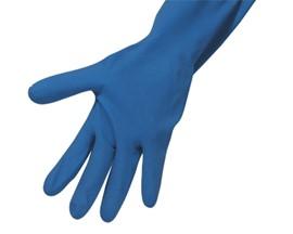 Household Gloves Small Blue (Pk 12)