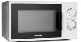 MONTPELLIER WHITE 20LTR WHITE SOLO MICROWAVE